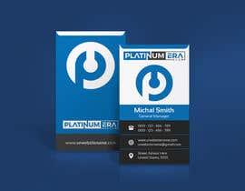 #427 for Design Business Card for Platinum Era Club by iqbalsujan500