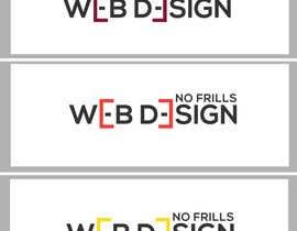 Nro 81 kilpailuun Logo Design: No Frills Web Design käyttäjältä fourtunedesign