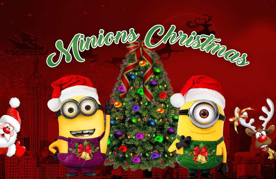 Funny Minion Merry Christmas Wallpapers Sayings: Minions Christmas