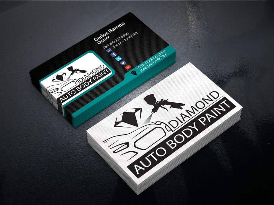 Entry #28 by cafy for logo/business card for Automotive body/ paint ...