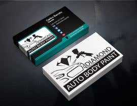 #28 for logo/business card for Automotive body/ paint shop by cafy