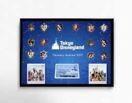 vanroco3 tarafından Disney pin display artwork design için no 16