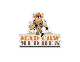 #66 para Logo Design for Mad Cow Mud Run por HimawanMaxDesign