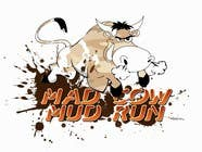 #67 for Logo Design for Mad Cow Mud Run by lauraburlea