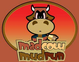 #113 pentru Logo Design for Mad Cow Mud Run de către stanbaker