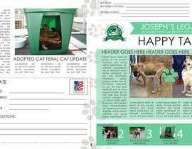 #13 untuk Newsletter Template for Animal Rescue developed in Illustrator oleh ryucalderon94