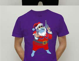 #7 for I would like a picture of santa clause holding up two guns in his hands with a blunt in his mouth then either at the top or bottom saying fuck your feelings. by GhostGraphics