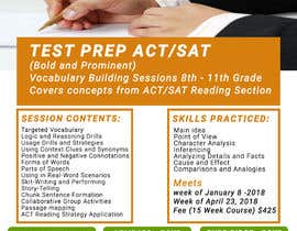 #29 for Flyer ACT Prep by zainebgfx