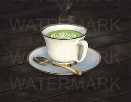 #23 for Photoshop 3 Cups: Height, Steam, Latte Art, Green Colour af harishjeengar