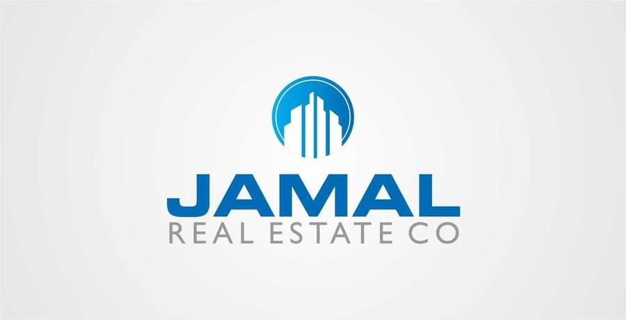 Penyertaan Peraduan #88 untuk Logo for Jamal Real Estate Co.