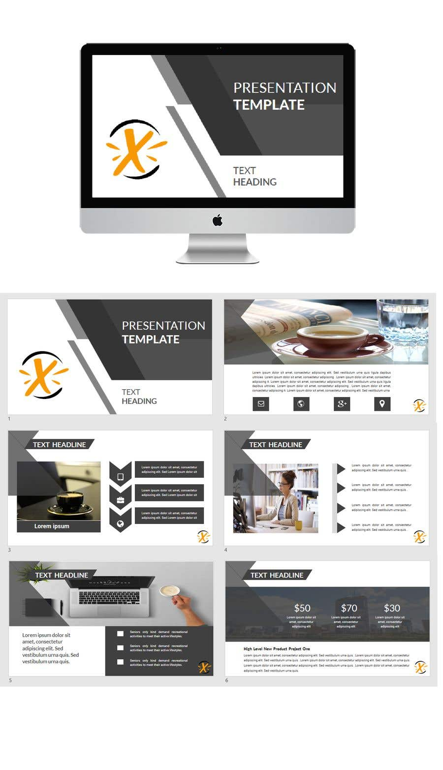Entry 18 By Hasippt For Ppt Template For Business Pitch