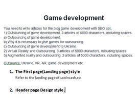 Nro 5 kilpailuun Articles for a blog. With SEO. 45K characters käyttäjältä Shapentech