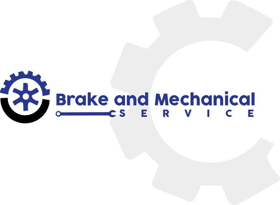 Penyertaan Peraduan #                                        20                                      untuk                                         Design a Logo for Brake & Mechanical Service