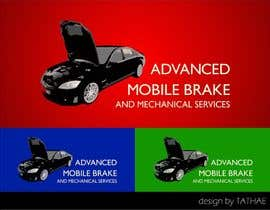 #9 untuk Design a Logo for Brake & Mechanical Service oleh TATHAE