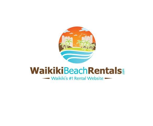 Penyertaan Peraduan #32 untuk Logo Design for WaikikiBeachRentals.com