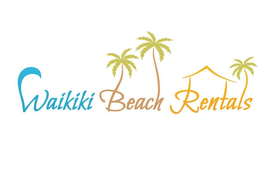 Inscrição nº                                         50                                      do Concurso para                                         Logo Design for WaikikiBeachRentals.com