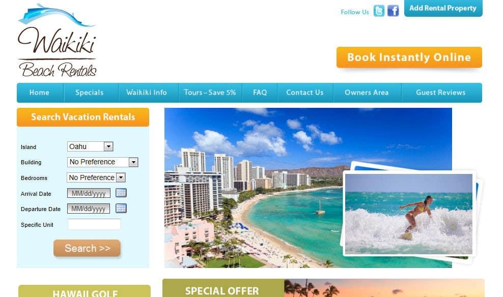 Конкурсная заявка №39 для Logo Design for WaikikiBeachRentals.com