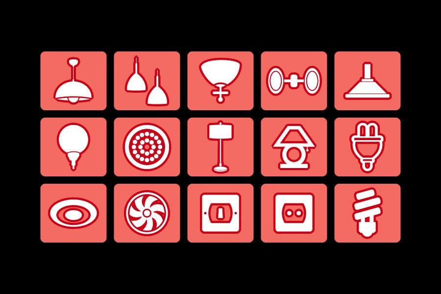 Proposition n°85 du concours Illustration Category Header/Tile Design for Coronet Lighting
