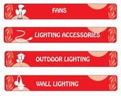 Proposition n° 97 du concours Graphic Design pour Illustration Category Header/Tile Design for Coronet Lighting