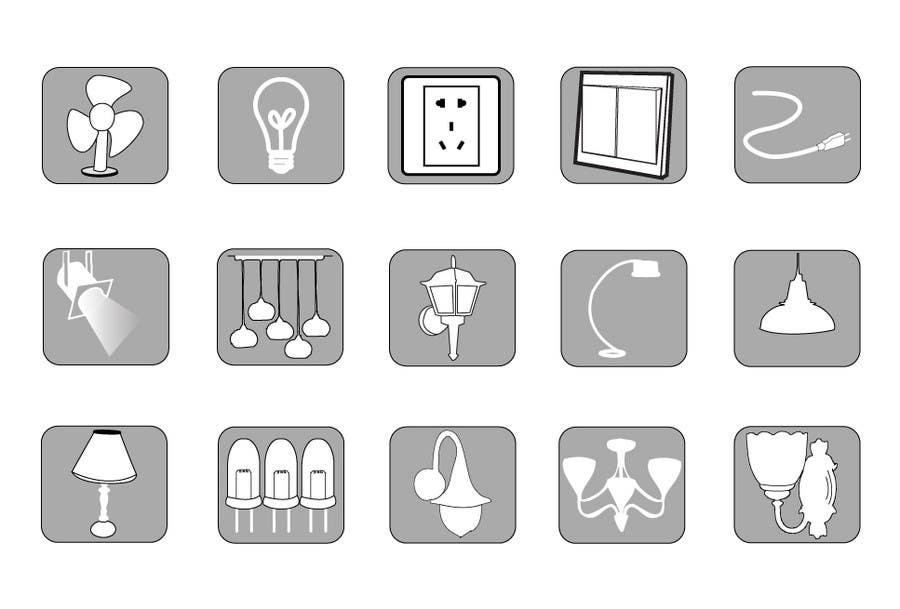 Bài tham dự cuộc thi #93 cho Illustration Category Header/Tile Design for Coronet Lighting