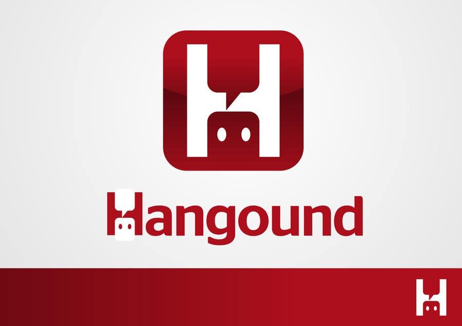 Logo design for Hangound (hangound.com), a new web social network based in NY. için 4 numaralı Yarışma Girdisi