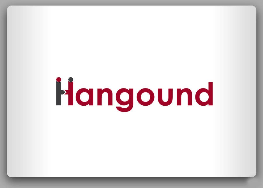 Logo design for Hangound (hangound.com), a new web social network based in NY. için 3 numaralı Yarışma Girdisi