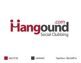 #99 para Logo design for Hangound (hangound.com), a new web social network based in NY. por BrandCreativ3