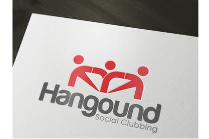 #47 para Logo design for Hangound (hangound.com), a new web social network based in NY. por iffikhan
