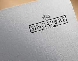#181 for New Startup Singapore company Logo (SingaporeMenu) by imalaminmd2550