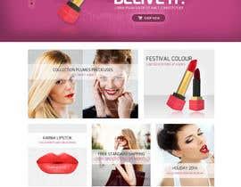 Nro 24 kilpailuun Home page design käyttäjältä obizzy
