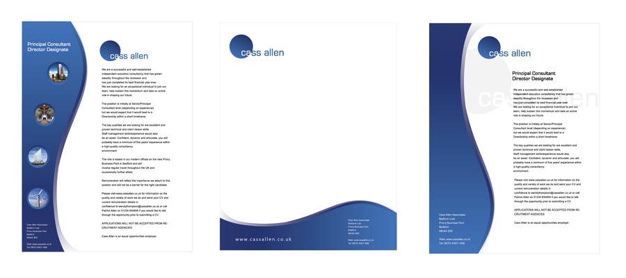 Inscrição nº                                         101                                      do Concurso para                                         Logo Design for Cass Allen Associates Ltd