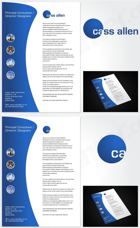 Inscrição nº                                         76                                      do Concurso para                                         Logo Design for Cass Allen Associates Ltd