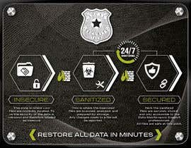 #13 para Design a Flyer for Local Security Tech por eddesignswork