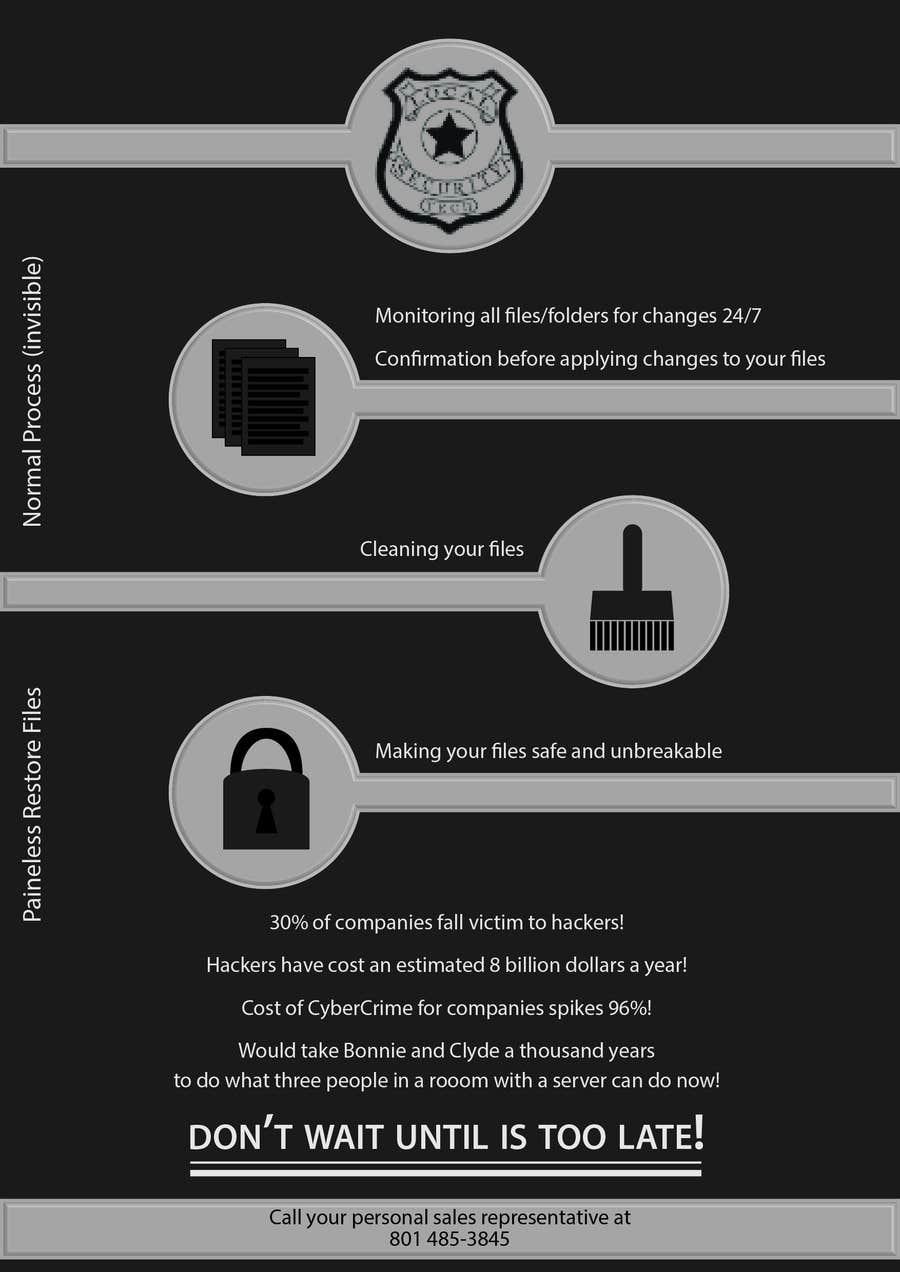 Inscrição nº                                         6                                      do Concurso para                                         Design a Flyer for Local Security Tech