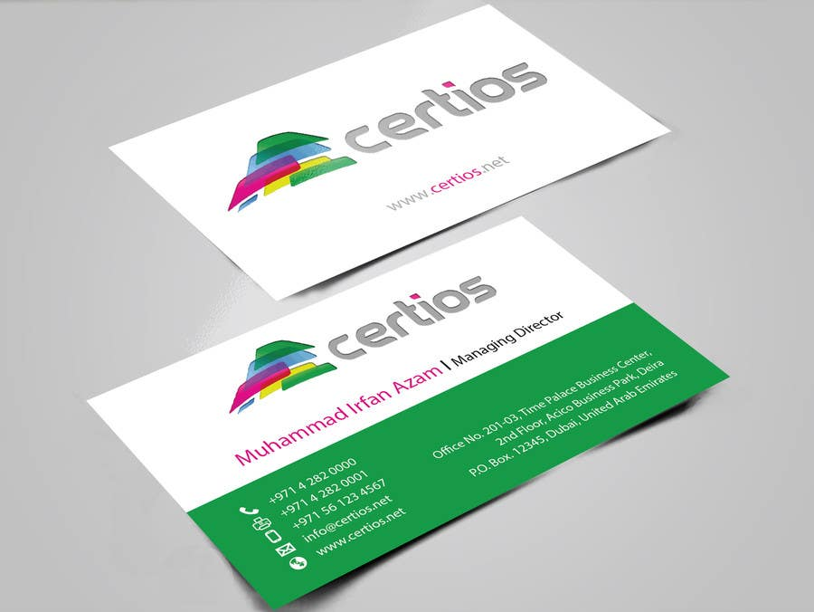 Entry #38 by mamun313 for Design Business Cards, Letter Head