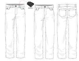 #55 for Design a Fashionable Jeans (Long-Term Work) by Xanabyeon