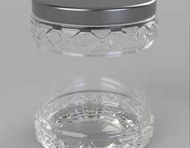 miksug tarafından Glass Jar design 500g and 250g plus caps and label STEP files for making moulds and dies. için no 15