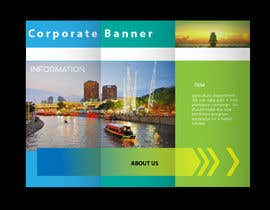 nº 74 pour Design a Corporate Banner par asik01711