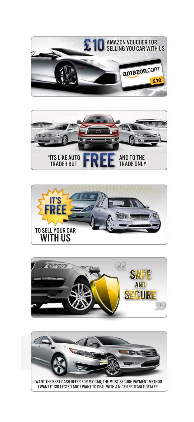 Конкурсная заявка №34 для Graphic Designs for Car Selling Website
