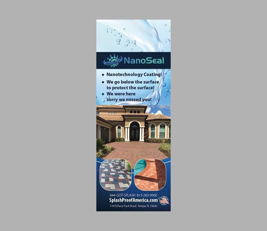 Contest Entry #26 for NanoSeal Brochure & Doorhanger