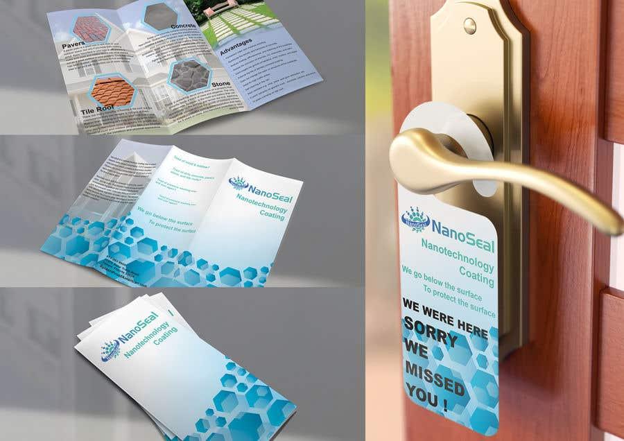 Contest Entry #29 for NanoSeal Brochure & Doorhanger