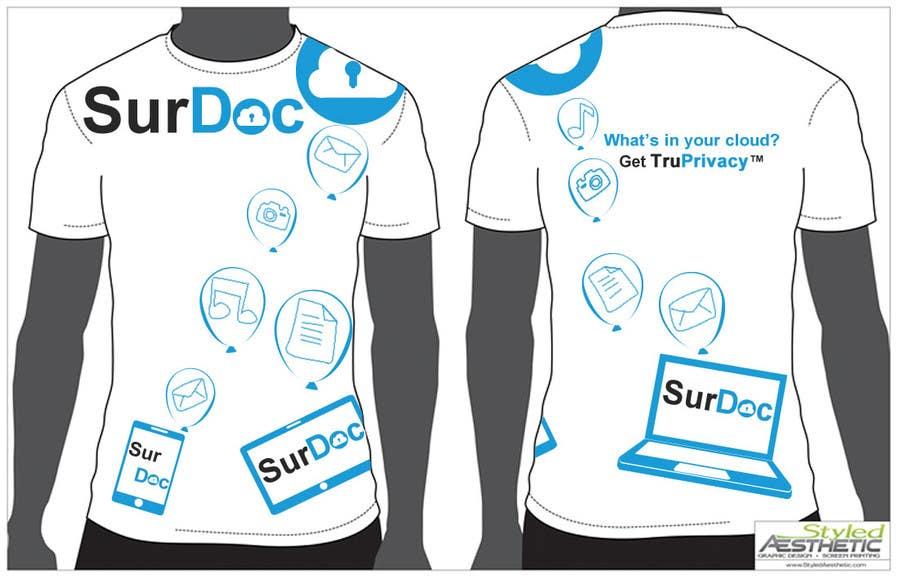 Inscrição nº                                         28                                      do Concurso para                                         ***T-SHIRT*** for SurDoc.com - Bold, modern, innovative, fresh!!!