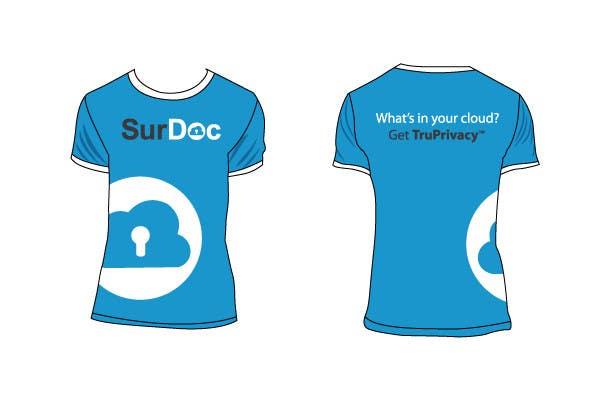 Inscrição nº 15 do Concurso para ***T-SHIRT*** for SurDoc.com - Bold, modern, innovative, fresh!!!