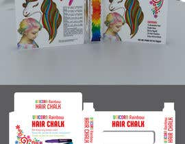 #22 for Rainbow Unicorn Hair Chalk Package Design af rashidabegumng