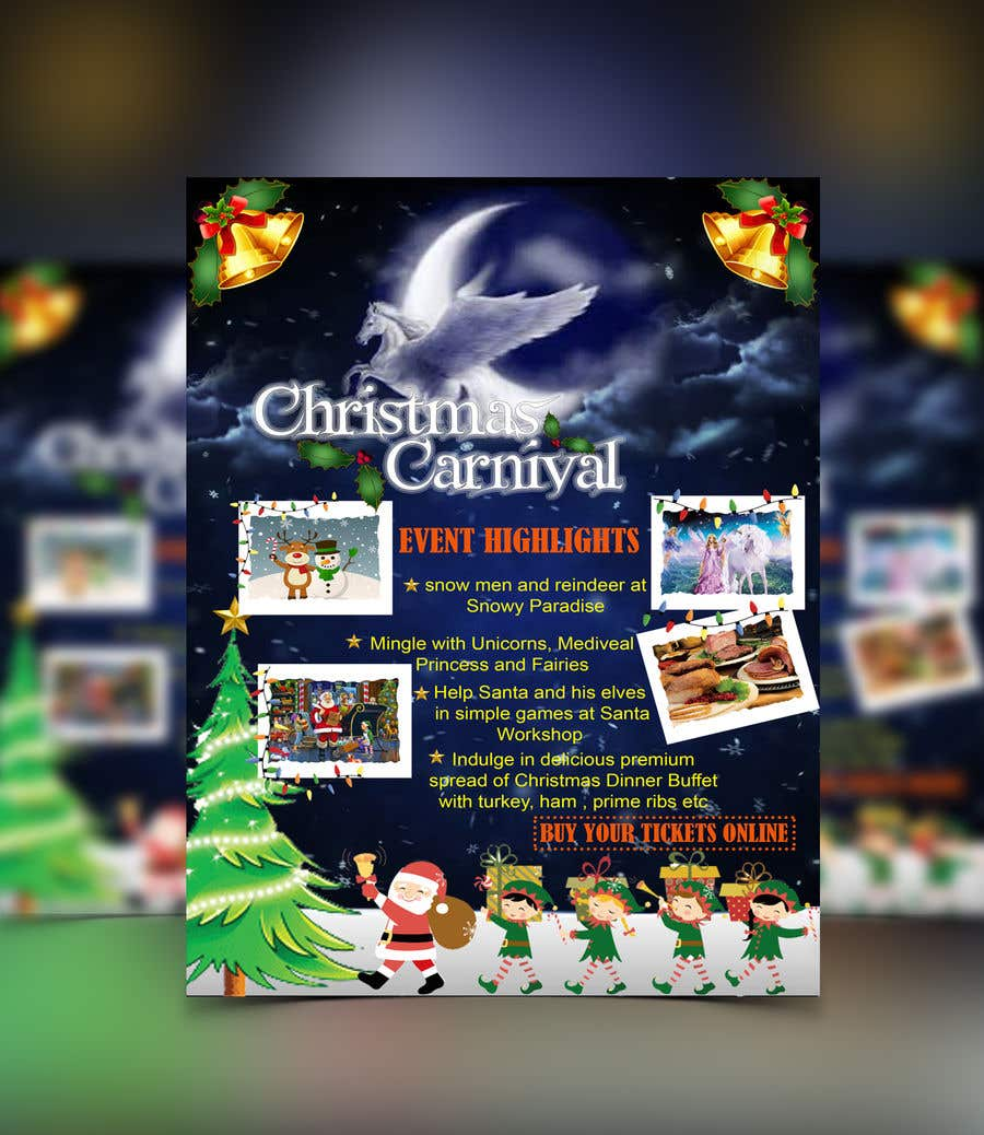 Contest Entry #66 for Design Christmas Carnival Marketing Material