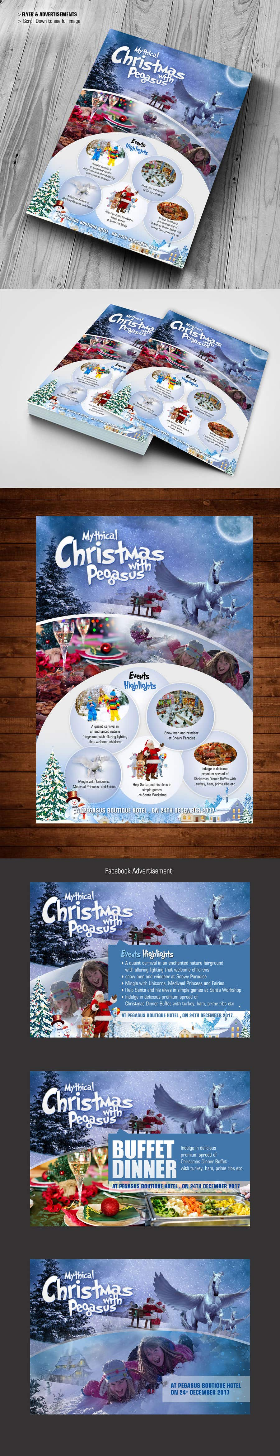 Contest Entry #8 for Design Christmas Carnival Marketing Material