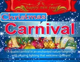 nº 42 pour Design Christmas Carnival Marketing Material par montasiralok8