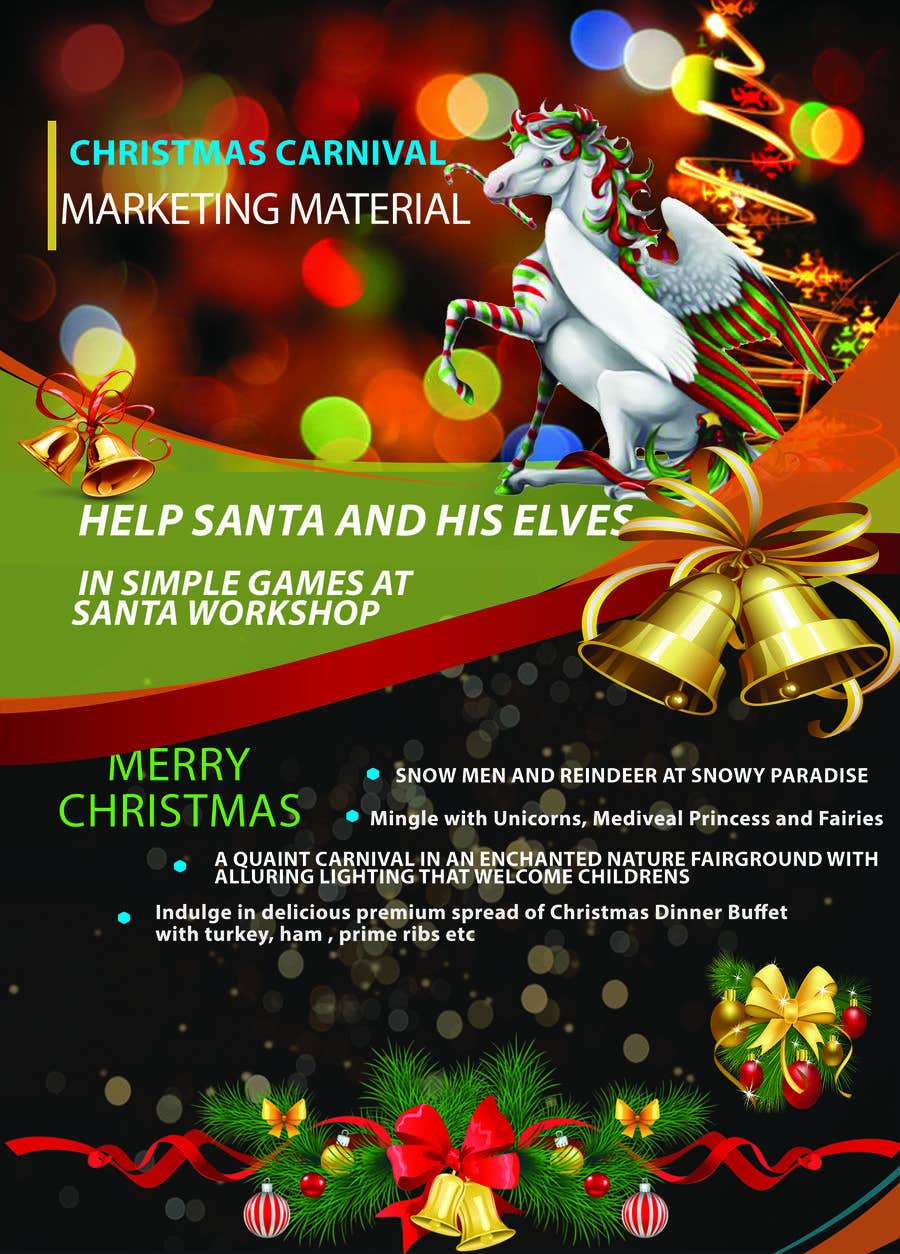 Contest Entry #23 for Design Christmas Carnival Marketing Material