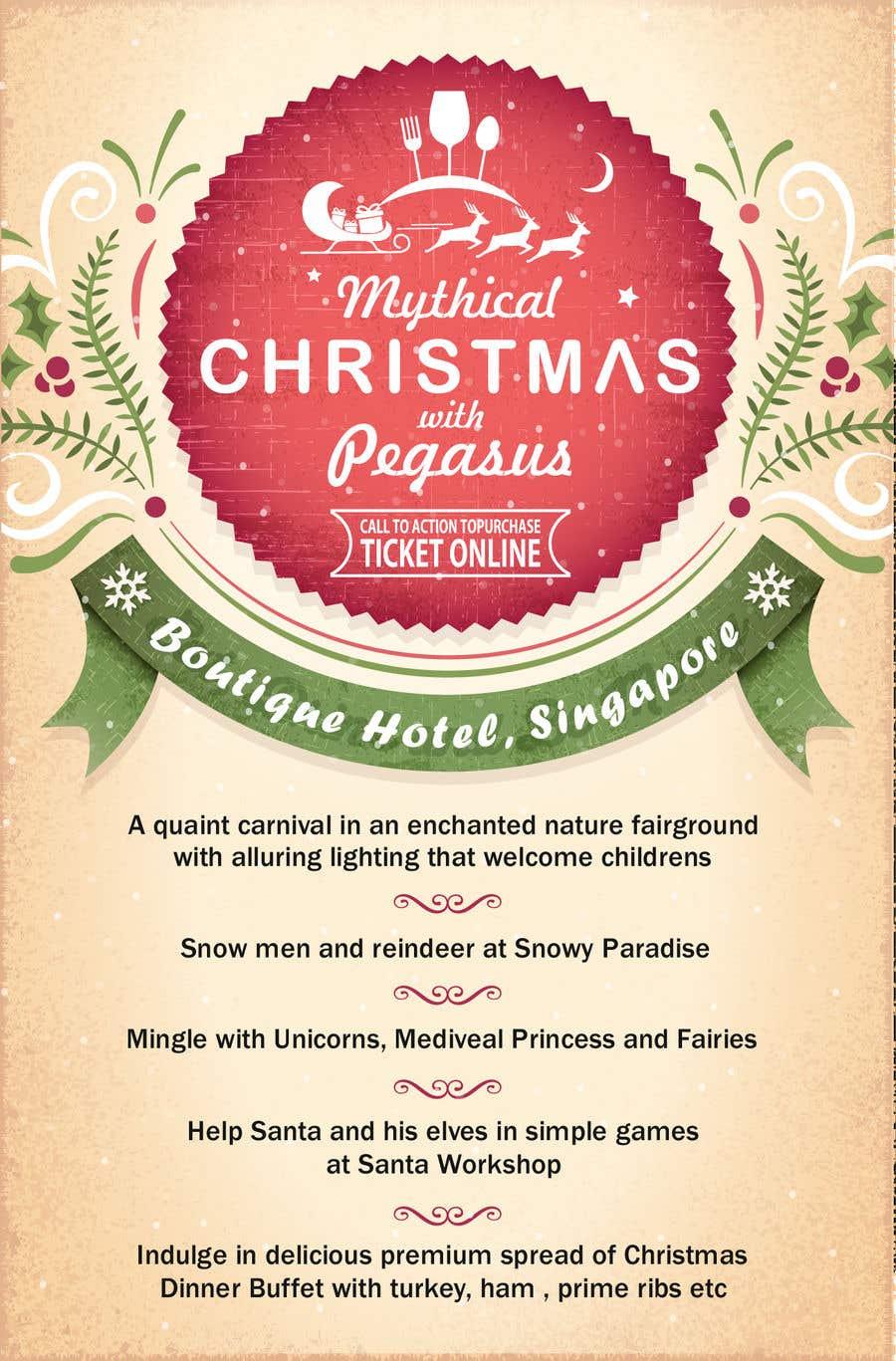 Příspěvek č. 27 do soutěže Design Christmas Carnival Marketing Material
