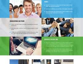#2 for Design a Website Landing Page Mockup by webidea12